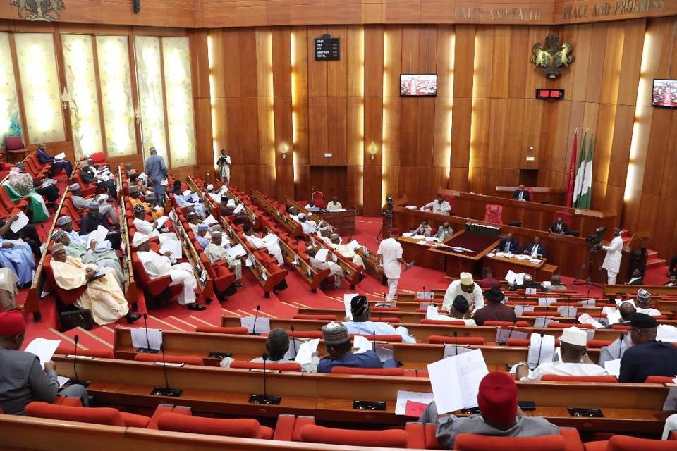 Senate in rowdy session over alleged lopsided appointments by Buhari