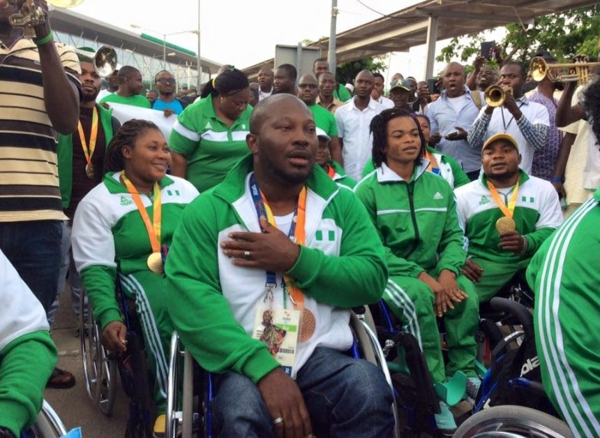 Para Weightlifters used to illustrate the story [Photo Credit: Voice of Nigeria]