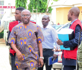 The Economic and Financial Crimes Commission, EFCC, on Tuesday arraigned a former Commissioner of Police (CP), Victor Onofiok