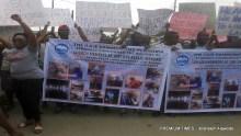 Makoko residents protest police killing