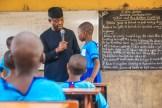 Osinbajo visits Ondo primary school. [Photo credit: NOVO ISIORO 4th May, 2018]