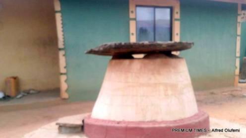 Baba Apiri's residence in Egosi town