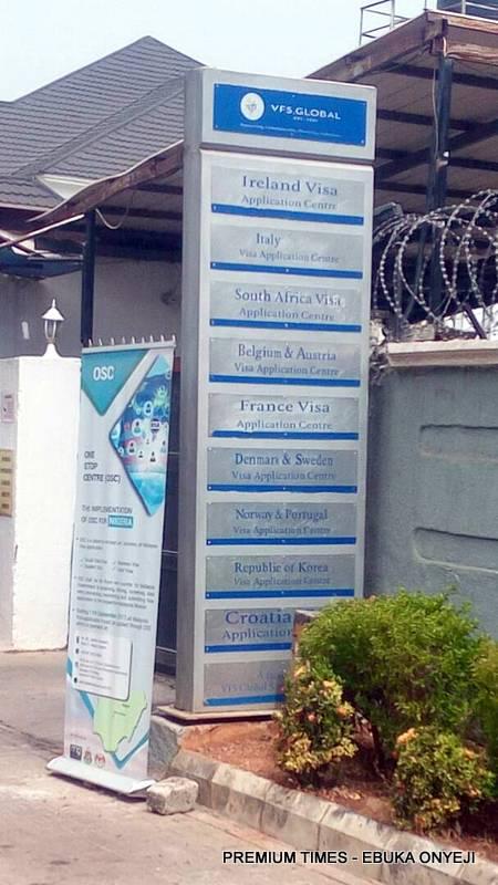 Vfs main office in Abuja