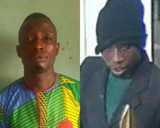 1) Kunle Ogunleye aka Arrow 35yrs native of Kwara State who was arrested yesterday in Oro town in Kwara State.