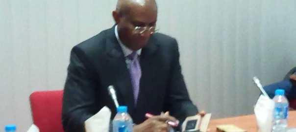 Senator Ovie Omo-Agege at the Investigative hearing