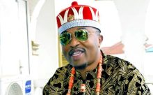 Oluwo of Iwo, AbdulRasheed Akanbi in Igbo attire.