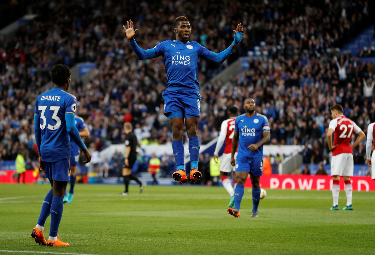 Iheanacho Celebrates Leicester's 'Back To Winning Ways' Feat Vs Arsenal