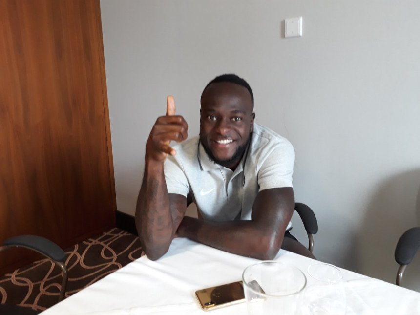 Suoer Eagles star, Victor Moses.