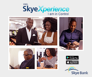 Skye Bank Advert