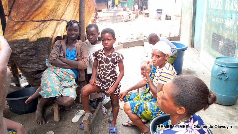 Other Otodogbame Out of School kids and their parents