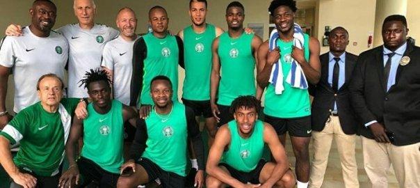 Iwobi, Onazi, others hit Eagles camp