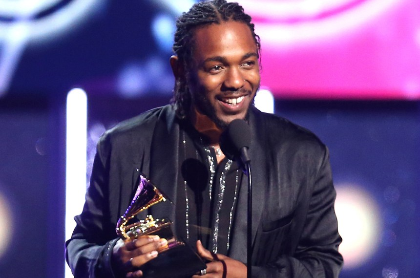 Kendrick Lamar at the just concluded 2018 Billboard Music Awards (BBMAs). [Photo credit: Billboard]