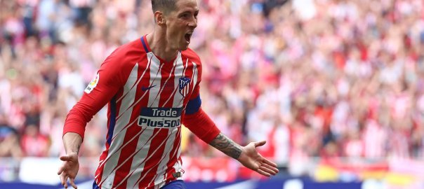 Atletico Madrid star, Fernando Torres.