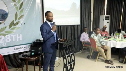 Fisayo Shoyombo, three times winner of the WSCIJ award.