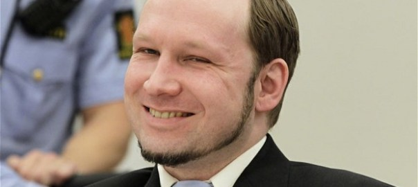 Norwegian mass killer Anders Behring Breivik. [Photo credit: The Telegraph]