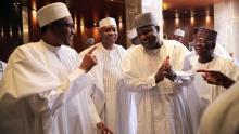 Buhari and Nigerian senators
