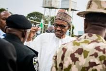 President Buhari in Jos