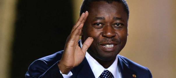 The Chairman of ECOWAS Authority and Togolese President, Faure Gnassingbe Eyadema. [Photo credit: The Guardian]
