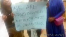 Lagos residents protest eight months of power outage