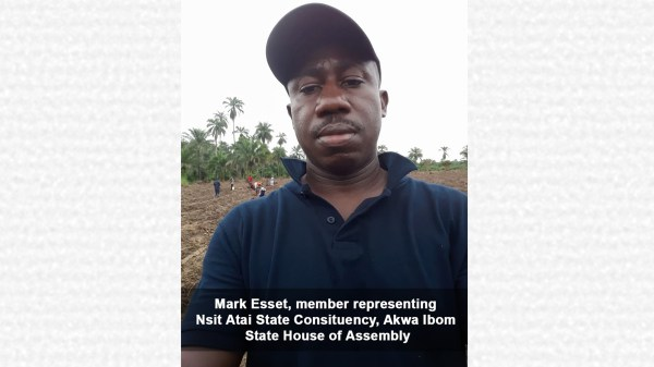 Mark Esset, member representing Nsit Atai State Consituency, Akwa Ibom State House of Assembly