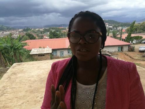 Miss Ajayi Fayokemi, N-power beneficiary from Ekiti