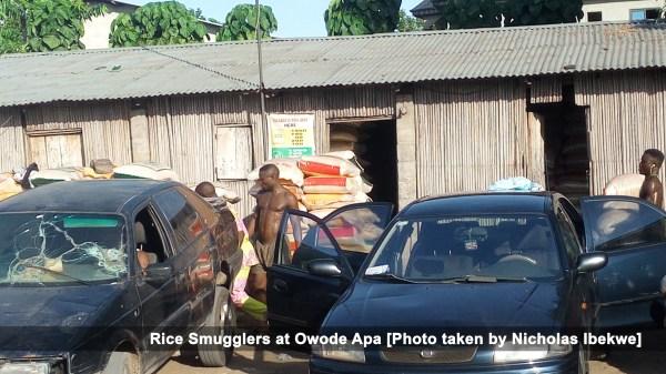 Rice Smugglers at Owode Apa
