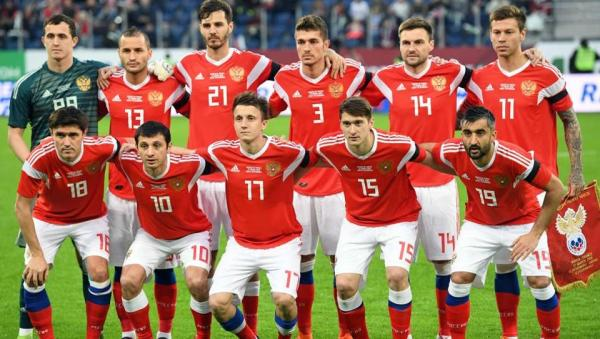 Russia National team 2018