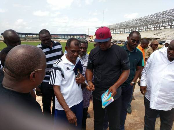 Yussuf Alli With the CAA Officials