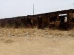 Abandoned staff quarters at PHC Rizek