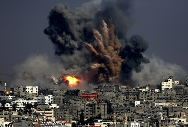 picture of middle east violence