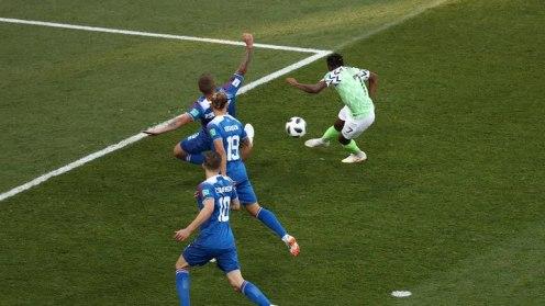 Ahmed Musa's Goal Iceland v Nigeria