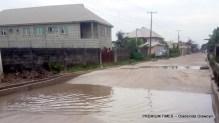 The Saliu Obodo road,at Oke-ira nla, Ajah