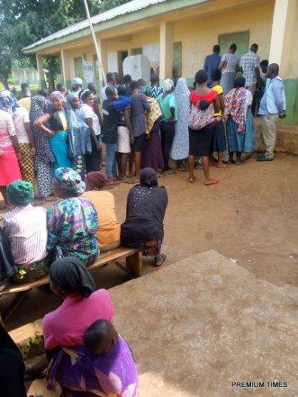 St lukes primary school Oye lg Ward 10 Pu 004 Imosi 1 Number of registered voters 291