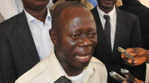 APC National Chairman, Adams Oshiomhole