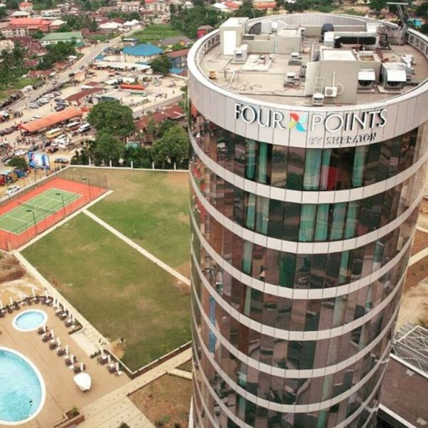Aerial view of Four Points by Sheraton Hotel, Ikot Ekpene _Photo credit_Skyscrapercity.com