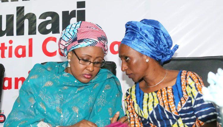 Aisha Buhari and Mrs Osibanjo