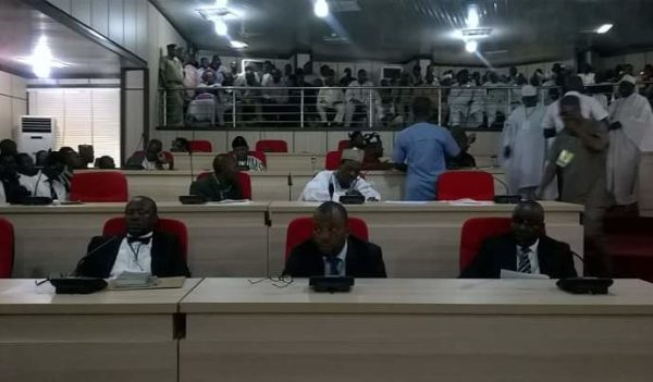 Image result for Eight lawmakers serve Governor Ortom impeachment notice
