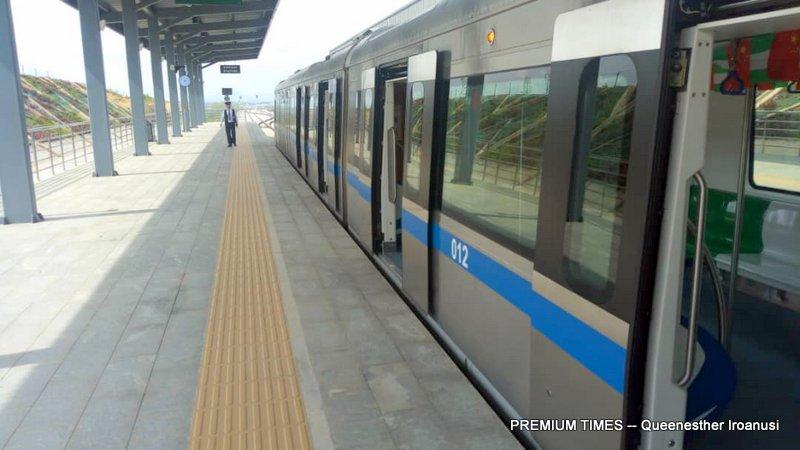 Abuja metro train