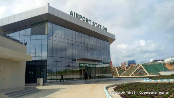 Airport station.