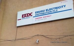 EEDC office in Owerri [PHOTO: James Eze]