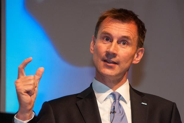 Jeremy Hunt [photo: Pete Hill]