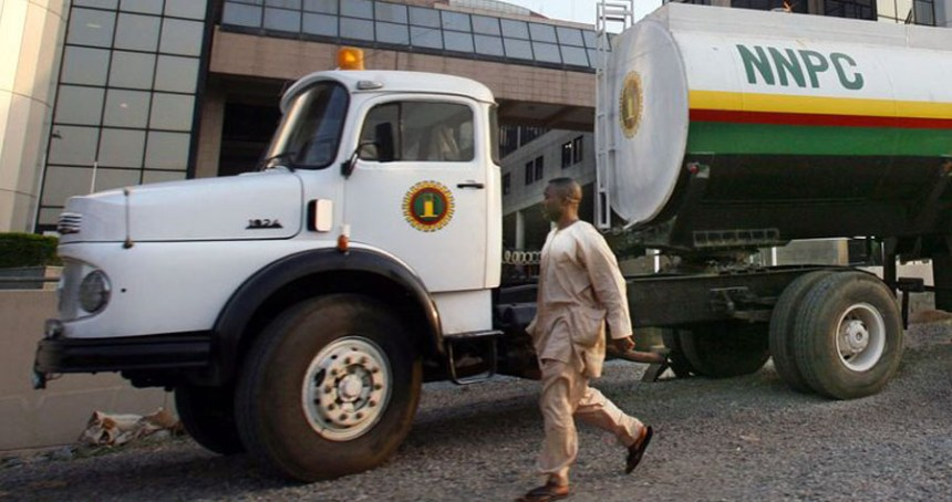 NNPC Truck used to illustrate the story. [Photo credit: NGeopolis]