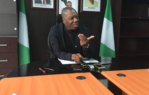 Nigeria's Chief Trade Negotiator & Director General, Nigerian Office for Trade Negotiations (NOTN), Ambassador Chiedu Osakwe