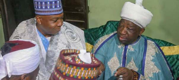 Saraki gets new traditional title