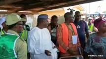 APC Candidate, Kayode Fayemi voting.