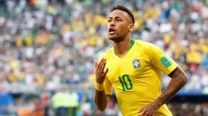 Neymar celebrates (Photo Credit: Reuters)
