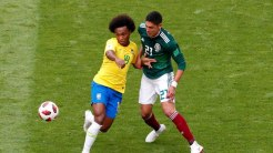 Brazil vs Mexico (Photo Credit: Reuters)