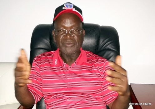 Governor Samuel Ortom of Benue state.