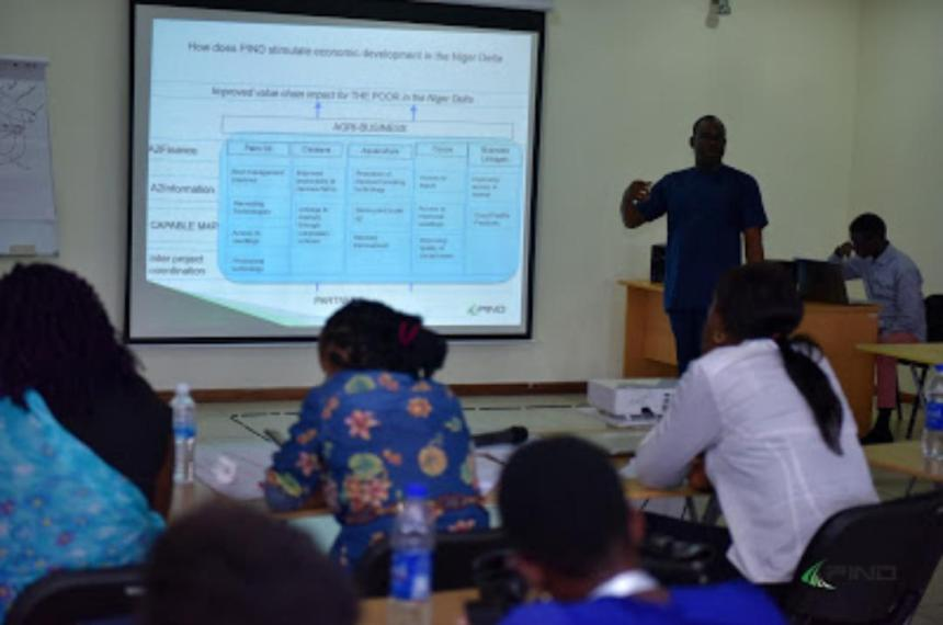 A two-day intensive training on Solution and Investigative journalism for Nigerian journalists.