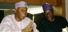 Bukola Saraki and Abdulfatah-Ahmed